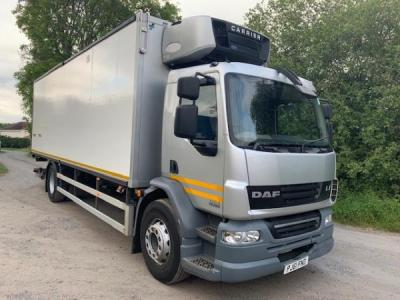 DAF 55/220 fridge truck